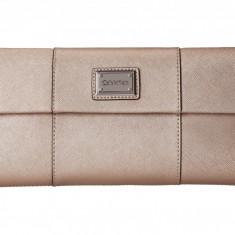 Geanta Calvin Klein Saffiano Clutch   100% original, import SUA, 10 zile lucratoare z12107 - Geanta Dama Calvin Klein, Geanta plic, Bej