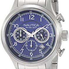 Nautica Men's N19630G NCT 16 | 100% original, import SUA, 10 zile lucratoare a12107 - Ceas barbatesc Nautica, Quartz