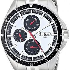 Armitron Men's 20 4948SVSV Stainless | 100% original, import SUA, 10 zile lucratoare a12107 - Ceas barbatesc Armitron, Quartz
