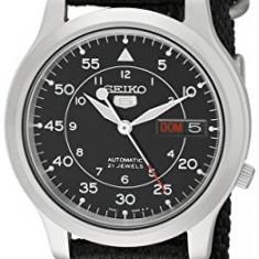 Seiko Men's SNK809 Seiko 5 | 100% original, import SUA, 10 zile lucratoare a12107 - Ceas barbatesc Seiko, Mecanic-Automatic