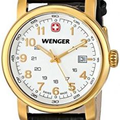 Wenger Men's 01 1041 110 | 100% original, import SUA, 10 zile lucratoare a12107, Quartz