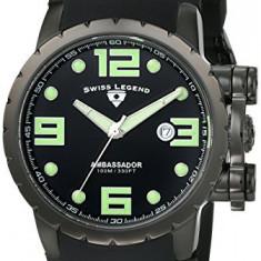 Swiss Legend Men's 30021-BB-01-WD Ambassador | 100% original, import SUA, 10 zile lucratoare a12107 - Ceas barbatesc Swiss Legend, Quartz