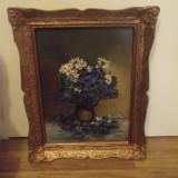 Tablou flori, Ulei, Realism