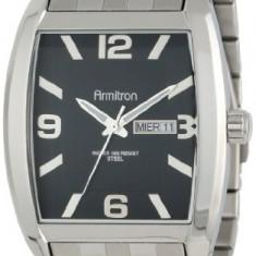Armitron Men's 20 4874BKSV Silver-Tone | 100% original, import SUA, 10 zile lucratoare a12107 - Ceas barbatesc Armitron, Quartz