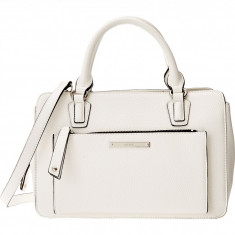 Geanta Nine West Zip and Go Medium Satchel | 100% original, import SUA, 10 zile lucratoare z12107 - Geanta Dama Nine West, Geanta de umar, Alb