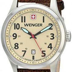 Wenger Men's 0541 106 Analog | 100% original, import SUA, 10 zile lucratoare a12107, Quartz