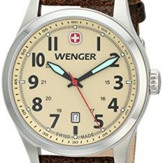 Wenger Men's 0541 106 Analog | 100% original, import SUA, 10 zile lucratoare a12107 - Ceas barbatesc Wenger, Quartz