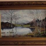 Tablou mesteceni, Peisaje, Ulei, Realism