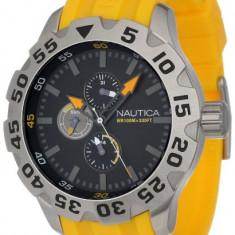 Nautica Men's N15566G BFD 100 | 100% original, import SUA, 10 zile lucratoare a12107 - Ceas barbatesc Nautica, Quartz