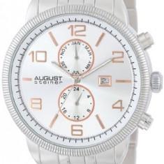 August Steiner Men's AS8069SS Multi-Function | 100% original, import SUA, 10 zile lucratoare a12107 - Ceas barbatesc August Steiner, Quartz