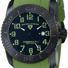Swiss Legend Men's 10068-BB-01-MGRSA Commander | 100% original, import SUA, 10 zile lucratoare a42707 - Ceas barbatesc Swiss Legend, Quartz