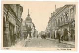 2906 - Arges, PITESTI, street Serban Voda - old postcard - unused, Necirculata, Printata