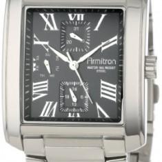 Armitron Men's 20 4870BKSV Black   100% original, import SUA, 10 zile lucratoare a12107 - Ceas barbatesc Armitron, Elegant