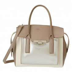 Geanta Nine West Strong Angles Large Satchel | 100% original, import SUA, 10 zile lucratoare z12107 - Geanta Dama Nine West, Geanta de umar, Multicolor