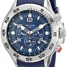 Nautica Men's N14555G NST Stainless | 100% original, import SUA, 10 zile lucratoare a12107 - Ceas barbatesc Nautica, Quartz