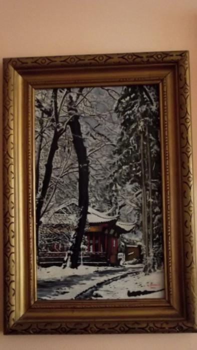 tablou iarna