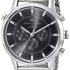 Tommy Hilfiger 1790877 Silver | 100% original, import SUA, 10 zile lucr. a12107 - Ceas barbatesc Tommy Hilfiger, Lux - sport, Quartz