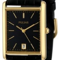Pulsar Men's PXDA80 Gold-Tone Stainless | 100% original, import SUA, 10 zile lucratoare a12107 - Ceas barbatesc Pulsar, Quartz