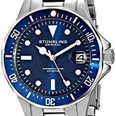 Stuhrling Original Men's 664 02 | 100% original, import SUA, 10 zile lucratoare a12107 - Ceas barbatesc Stuhrling, Quartz