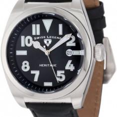 Swiss Legend Men's 20434-01 Heritage | 100% original, import SUA, 10 zile lucratoare a12107 - Ceas barbatesc Swiss Legend, Quartz