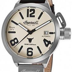 Ingersoll Men's IN8900SCR Bison No | 100% original, import SUA, 10 zile lucratoare a22207 - Ceas barbatesc Ingersoll, Mecanic-Automatic