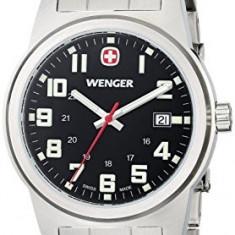 Wenger Men's 72806 Analog Display | 100% original, import SUA, 10 zile lucratoare a22207, Quartz