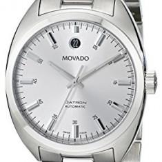 Movado Men's 0606360 Datron Stainless-Steel | 100% original, import SUA, 10 zile lucratoare a32207 - Ceas barbatesc Movado, Mecanic-Automatic, Otel