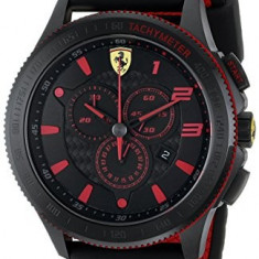 Ferrari Men's 0830138 Scuderia XX | 100% original, import SUA, 10 zile lucratoare a32207 - Ceas barbatesc Ferrari, Quartz