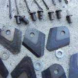 Set de 8 cutite pentru cositoare rotativa motocultor cu discuri/tamburi