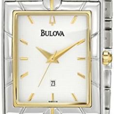 Bulova Men's 98H16 Two-Tone Watch | 100% original, import SUA, 10 zile lucratoare a22207 - Ceas barbatesc Bulova, Quartz