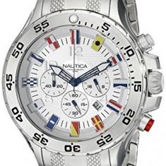 Nautica Men's N20503G NST Stainless | 100% original, import SUA, 10 zile lucratoare a22207 - Ceas barbatesc