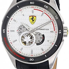 Ferrari Men's 0830098 Analog Display   100% original, import SUA, 10 zile lucratoare a32207 - Ceas barbatesc Ferrari, Casual, Quartz