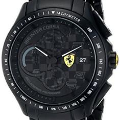 Ferrari Men's 0830087 Race Day | 100% original, import SUA, 10 zile lucratoare a32207 - Ceas barbatesc Ferrari, Quartz
