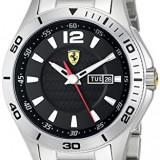 Ferrari Men's 0830094 Scuderia Analog   100% original, import SUA, 10 zile lucratoare a32207 - Ceas barbatesc Ferrari, Quartz
