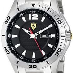 Ferrari Men's 0830094 Scuderia Analog   100% original, import SUA, 10 zile lucratoare a32207 - Ceas barbatesc Ferrari, Casual, Quartz