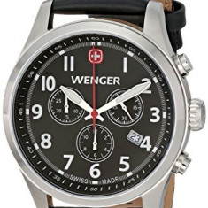 Wenger Men's 0543 101 Analog | 100% original, import SUA, 10 zile lucratoare a22207, Casual, Quartz
