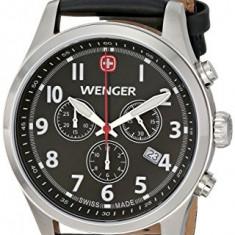 Wenger Men's 0543 101 Analog | 100% original, import SUA, 10 zile lucratoare a22207 - Ceas barbatesc Wenger, Quartz