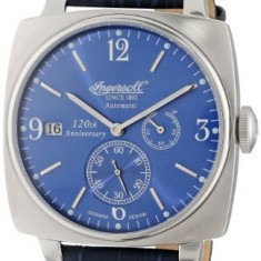Ingersoll Men's IN8014BL Galesburg Analog | 100% original, import SUA, 10 zile lucratoare a32207 - Ceas barbatesc Ingersoll, Casual, Mecanic-Automatic