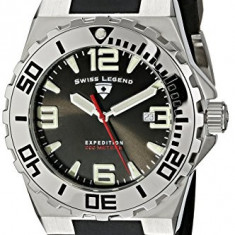 Swiss Legend Men's 18010-01 Tungsten | 100% original, import SUA, 10 zile lucratoare a22207 - Ceas barbatesc Swiss Legend, Quartz