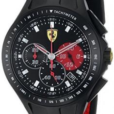 Ferrari Men's 0830023 Race Day | 100% original, import SUA, 10 zile lucratoare a32207 - Ceas barbatesc Ferrari, Quartz