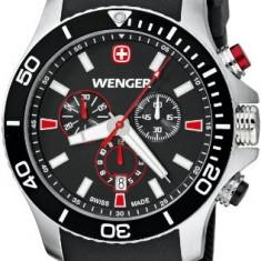 Wenger Men's 0643 102 Analog | 100% original, import SUA, 10 zile lucratoare a32207 - Ceas barbatesc Wenger, Quartz