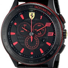 Ferrari Men's 0830142 Scuderia XX | 100% original, import SUA, 10 zile lucratoare a32207 - Ceas barbatesc Ferrari, Quartz