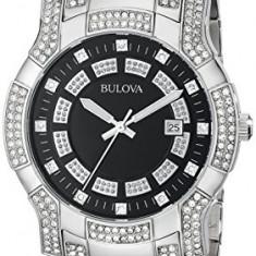 Bulova Men's 96B176 Crystal Watch | 100% original, import SUA, 10 zile lucratoare a32207 - Ceas barbatesc Bulova, Quartz