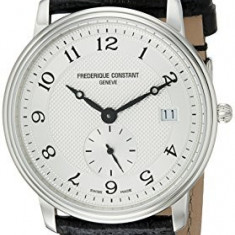 Frederique Constant Men's FC-245AS4S6 Slim | 100% original, import SUA, 10 zile lucratoare a32207 - Ceas barbatesc Frederique Constant, Casual, Quartz