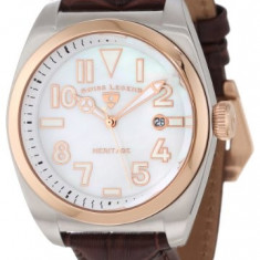 Swiss Legend Men's 20434-02MOP-RB-BRW Heritage | 100% original, import SUA, 10 zile lucratoare a12107 - Ceas barbatesc Swiss Legend, Quartz