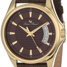 Lucien Piccard Men's 98660-YG-04 Excalibur | 100% original, import SUA, 10 zile lucratoare a12107 - Ceas barbatesc Lucien Piccard, Casual, Quartz