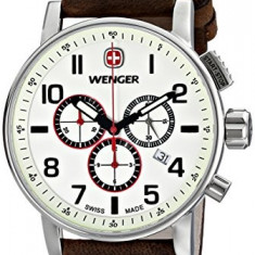 Wenger Men's 01 1243 105 | 100% original, import SUA, 10 zile lucratoare a32207, Quartz