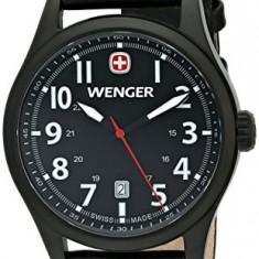 Wenger Men's 0541 101 Analog | 100% original, import SUA, 10 zile lucratoare a22207, Quartz