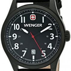 Wenger Men's 0541 101 Analog | 100% original, import SUA, 10 zile lucratoare a22207 - Ceas barbatesc Wenger, Quartz