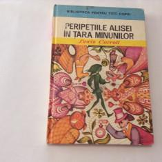 Peripetiile Alisei in tara minunilor - Autor : Lewis Carroll, RF2/4 - Carte educativa
